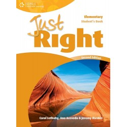 Just Right Elementary Workbook With Key + Audio CD