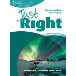 Just Right Pre-Intermediate Workbook Without Key + Audio CD