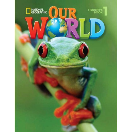 Our World 1 Student's Book + Student's CD-ROM