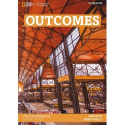 Outcomes 2nd edition Pre-Intermediate Student's Book + Class DVD + Access Code